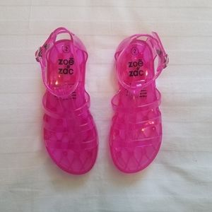 Other - Pink Jelly Sandals